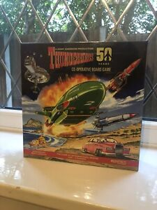 NEW AND SEALED - Rare Thunderbirds Co - Operative Board Games 50 Year Special