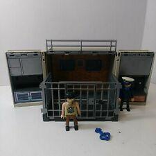 5421 Playmobil Jail Cell Police Station Fold & Go Take