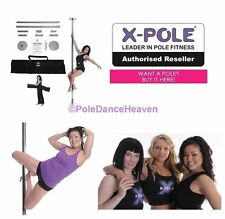 ✩  THE X-POLE® 45mm SPORT CHROME SET INCLUDES FREE CARRY BAG ✩