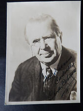 "Charles Coburn Autographed 5"" X 7"" Photograph from Estate"