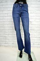Jeans DIESEL VIKER Donna Taglia W28 L32 Pantalone Gamba Dritta Cotone Elastico