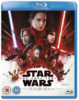 STAR WARS THE LAST JEDI BLU RAY Carrie Fisher Daisy Ridley UK Release New R2
