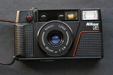 """FILM TESTED Nikon L35 AF2 with Nikon f2.8 35mm """"Pikaichi""""  One Touch EXC. Cond++"""