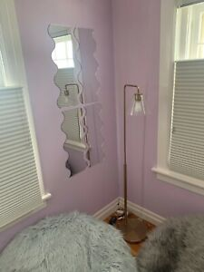Pair of Wavy Shaped Acrylic Mirrors (Several Sizes Available)