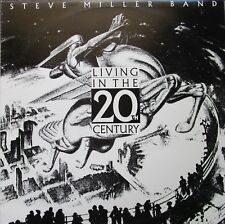 Steve Miller Band Living In The 20th Century Vinyl lp Australasia 1986 Record