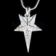 w Swarovski Crystal Polaris North Star Northern Lodestar Pole Charm Necklace New