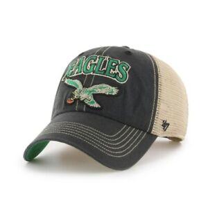 Philadelphia Eagles '47 Brand snapback Hat Cap mesh black new legacy logo