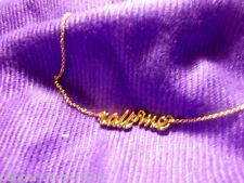 kate spade call me in cursive script necklace WBRU5933 new tag/great Gift SALE