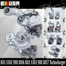 K03-016 K03-017 Turbo charger fits 99-04 Audi A6 Quattro  2.7T AJK 5303 988 0016