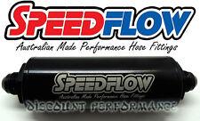 Speedflow -10AN Long Series 100 Micron Inline Billet Fuel Filter 602-100-10 E85