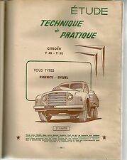 REVUE TECHNIQUE AUTOMOBILE 123 1956 CAMION CITROEN T45 T55 (2) FORD TAUNUS 12M