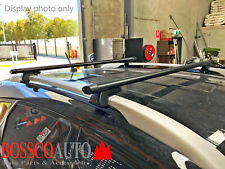 Black Roof Racks suitable for Kia Sportage  2005-2009