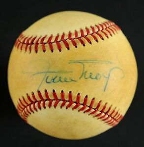 Willie Mays AUTOGRAPHED Rawlings Baseball