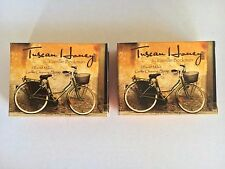 """NEW 2 X CAMILLE BECKMAN """" TUSCAN HONEY """"  FRENCH MILLED GENTLE CLEANSING SOAPS"""