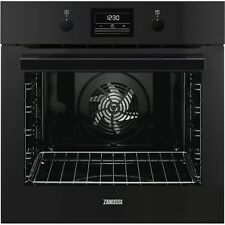 Zanussi ZOP37972BK Multifunction Single Oven With Pyrolytic Cleaning  ZOP37972BK