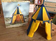 Schleich Tournament Tent (Blue) with Box but NO FLAG #42010