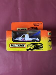 1995 Matchbox Limited Edition / GMC Wrecker - CAA Wreck Truck Promo / Rare