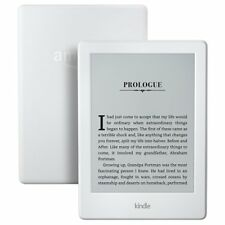 """New Kindle E-reader, White, 6"""" Glare-Free Touch Display, Wi-Fi, Special Offers"""