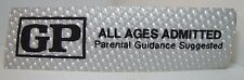 Orig 1970s Rare GP Parental Guidance Suggested Movie Theater Holograph Adv Sign