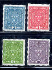 Austria Set of 4 Stamps # 173-175 Mh
