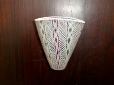 Murano Venecia Glas Vase seltene Form Antikes Fadenglas !!
