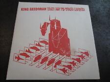 "King Geedorah Take Me To Your Leader OG PRESS Vinyl Record 12"" MF Doom 2003"