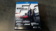 Fast & Furious - 1 à 6 - coffret blu-ray