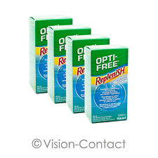 Alcon - 4x Opti-Free RepleniSH - 90ml / 1x Behälter