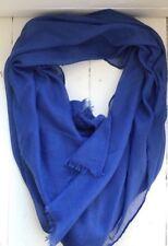 Royal Blue Soft Pashmina Style Scarf