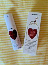NIB Korres Wild Rose Smoothie Vitamin C Brightening Priming Moisturizer 1oz/30ml