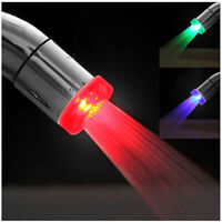 NEW 7 Colors Changing Temperature Sensor LED Light Glow Water Faucet Stream Tap