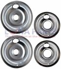 For Gibson Oven Range Stove Drip Pans Kit 2 6 Inch 2 8 Inch # LZ4664212PAGB760 photo