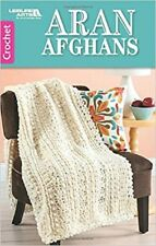 Crochet Pattern Book Aran Afghans ~ 4 Designs