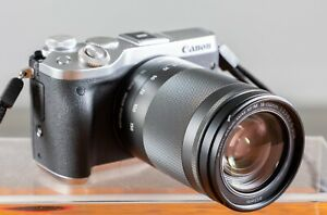 Canon EOS M6 Mirrorless 24MP w/Canon 18-150mm SuperZoom Low Shutter Count Tested