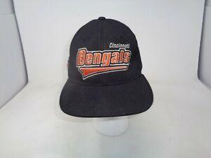Cincinnati Bengals Vintage 90s Starter Fitted Hat Pro Line 7 - 7 3/4