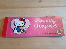 Hello Kitty Cheque Book