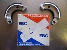 Z582 EBC BRAKE SHOES PN# VB-24-301B 50 GYRO ELITE SPREE AERO EXPRESS Z50R 50R XR