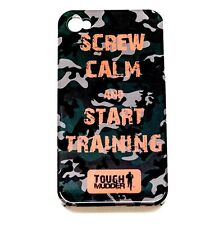 "Tough Mudder ""Start Training"" Cell Smart iPhone 4/4S Case Protective Skin Cover"