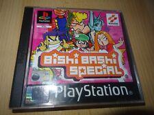 Bishi Bashi Especial PS1 PAL BUEN COLECCIONISTAS