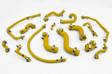 Stoney Racing Mazda MX5 MK1 1.6 Silicone Coolant & Breather Hose Kit Yellow