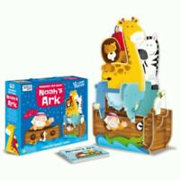 Sassi Junior - Noah's Ark 12 Piece Giant 3D Puzzle and Book
