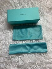 TIffany Co. Blue Eyeglass Box Sunglasses Box Empty Presentation Gift MINT!
