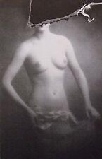 """Nude monté vintage imprimé photo, 10 x 8"""", photographie Sarah Moon 1977 NP66"""