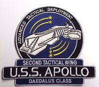 "Stargate SG-1/Atlantis USS Apollo  Logo 5"" Uniform Patch-USA Mailed(SGPA-32-App)"