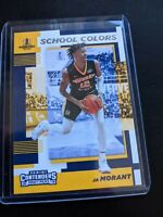 2019-20 JA MORANT PANINI PRIZM ROOKIE SCHOOL COLORS MEMPHIS GRIZZLIES RC
