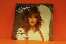"""TIFFANY - I SAW HIM STANDING THERE / MR MAMBO    - PS - 7"""" SINGLE 45 P"""