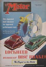 Motor magazine 26/2/1958 featuring Hillman Husky road test, Lister-Jaguar