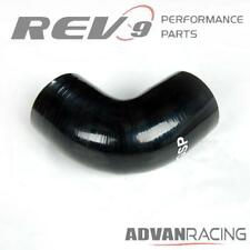 2.5 inch 90 Degree Elbow Silicone Hose Pipe Intercooler Coupler Turbo Black
