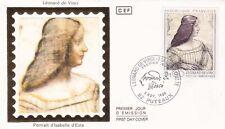 Enveloppe 1er Jour PUTEAUX 08/11/1986 portrait d'Isabelle d'ESTE timbrée