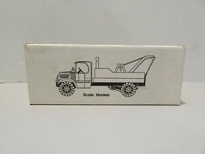 ERTL Scale Models 1935 Mack Tow Truck Die Cast Metal Made in USA Coin Bank